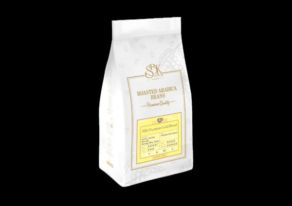 02. SBK Roasted Arabica Coffee Beans SBK PREMIUM GOLD BLEND SBK 高级黄金版 炭烧咖啡豆 500g