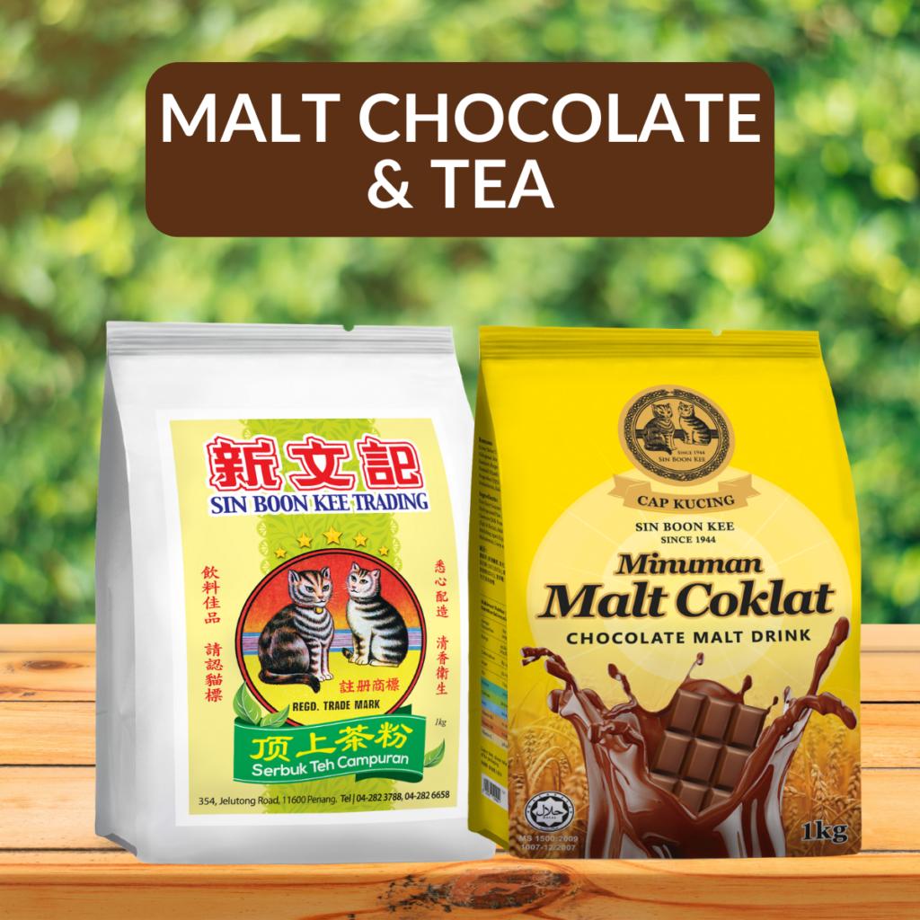 Malt Chocolate & Tea