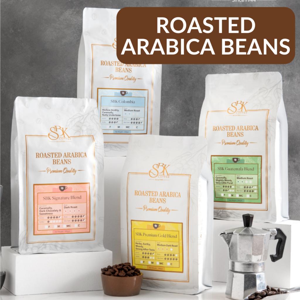 Roasted Arabica Beans