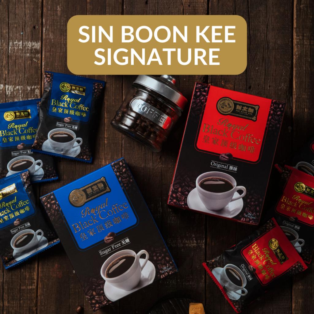 Sin Boon Kee Signature